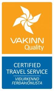 VAKINN merki Certified-Travel-Service